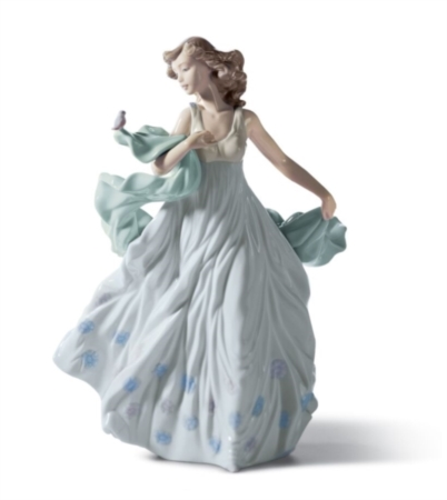 Dama serenata d'estate [Lladro]